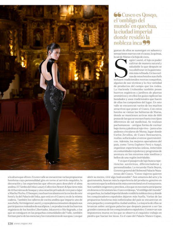 Juana Burga Vogue Mexico 2015 Alex del Rio